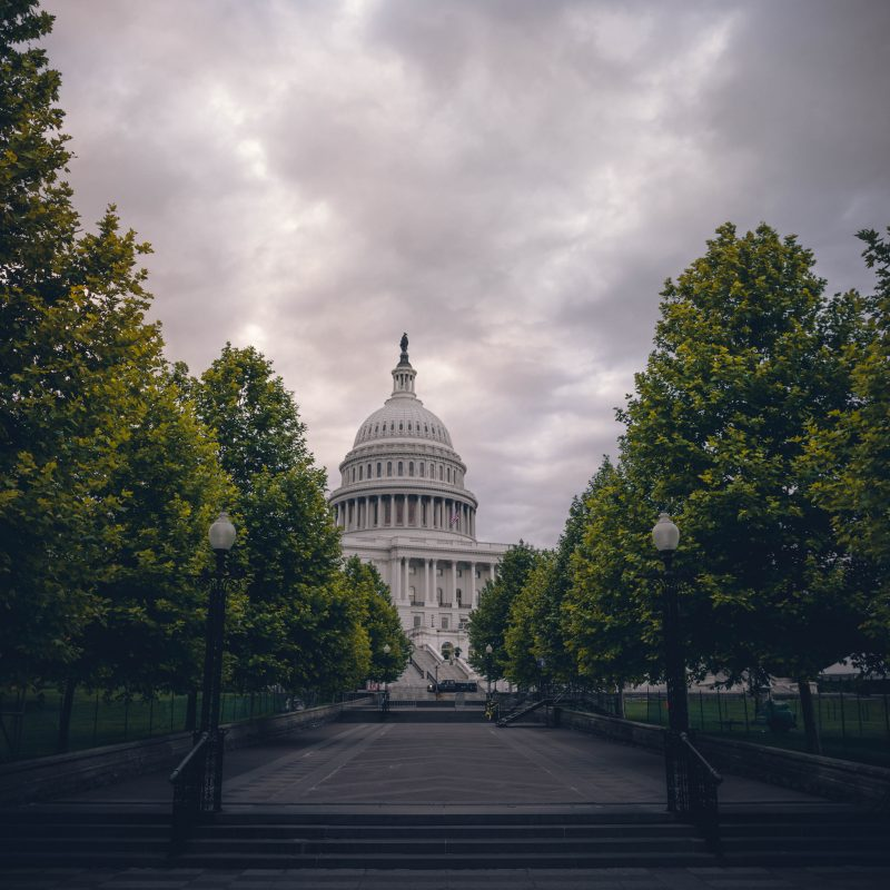 United States Capitol Overcast