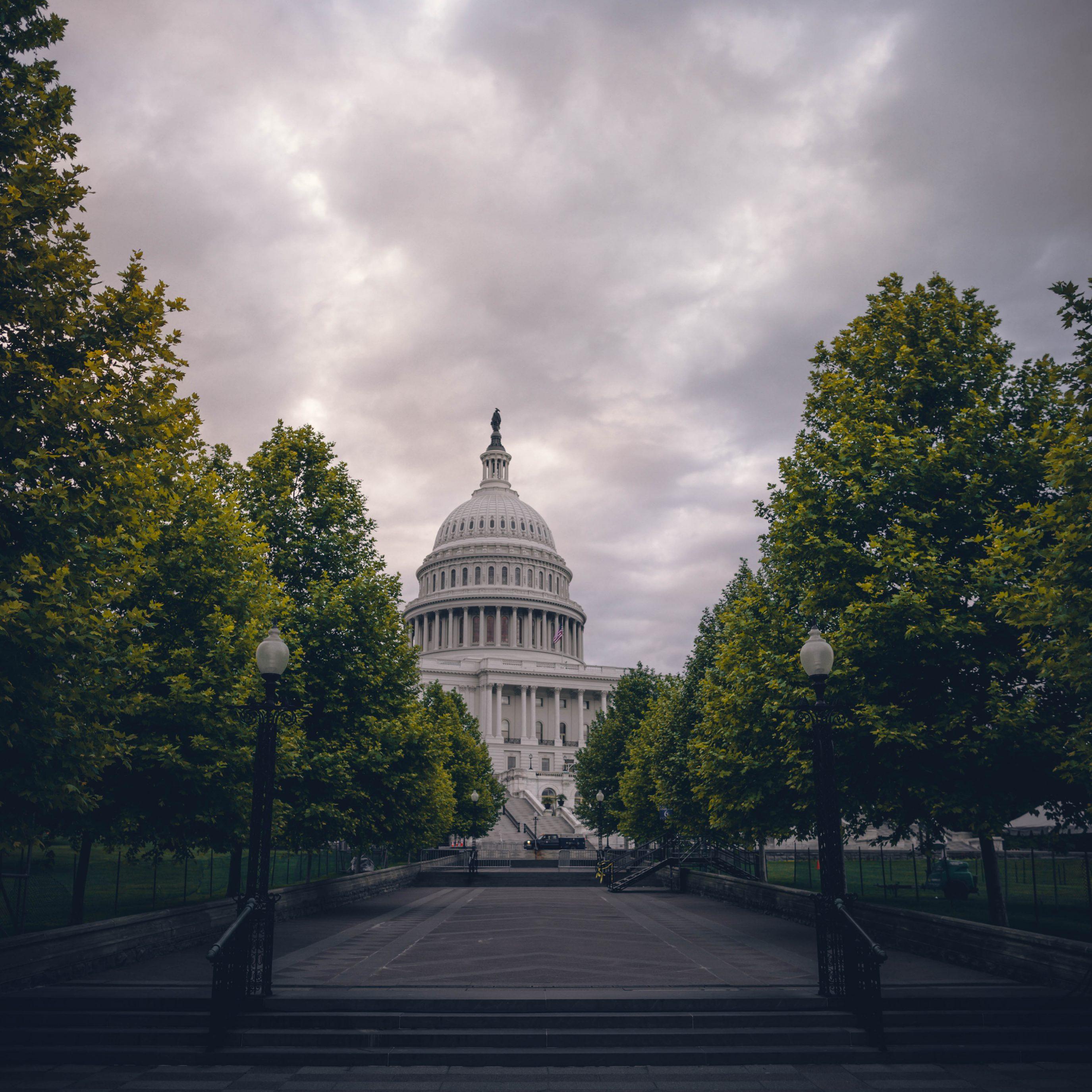 United States Capitol Overcast