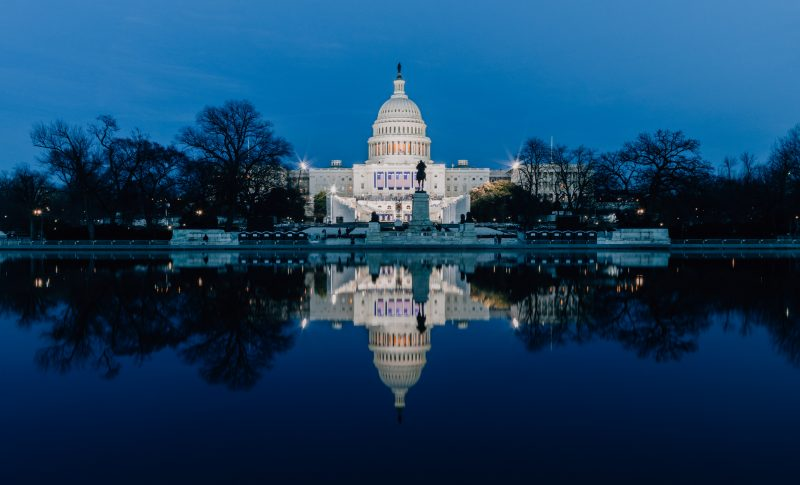 United States Capitol Reflection Dc