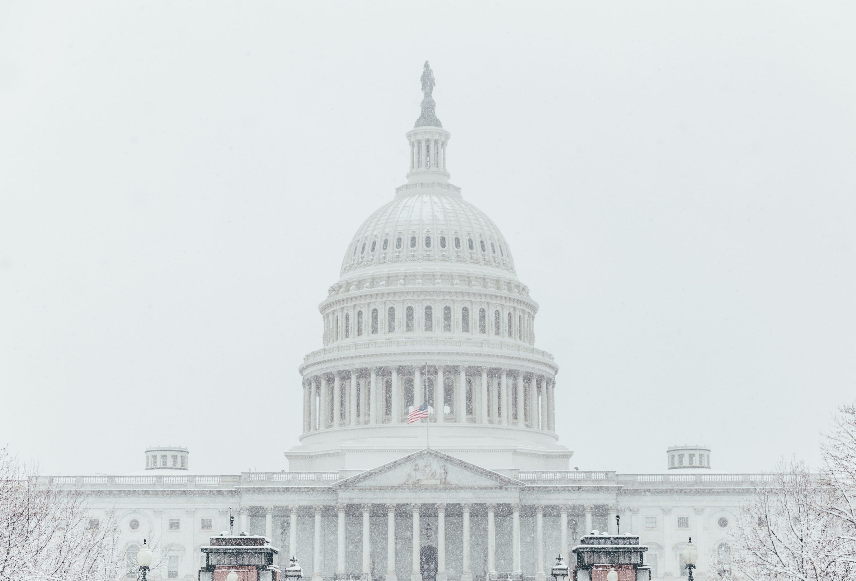 Us Capitol Snow Storm