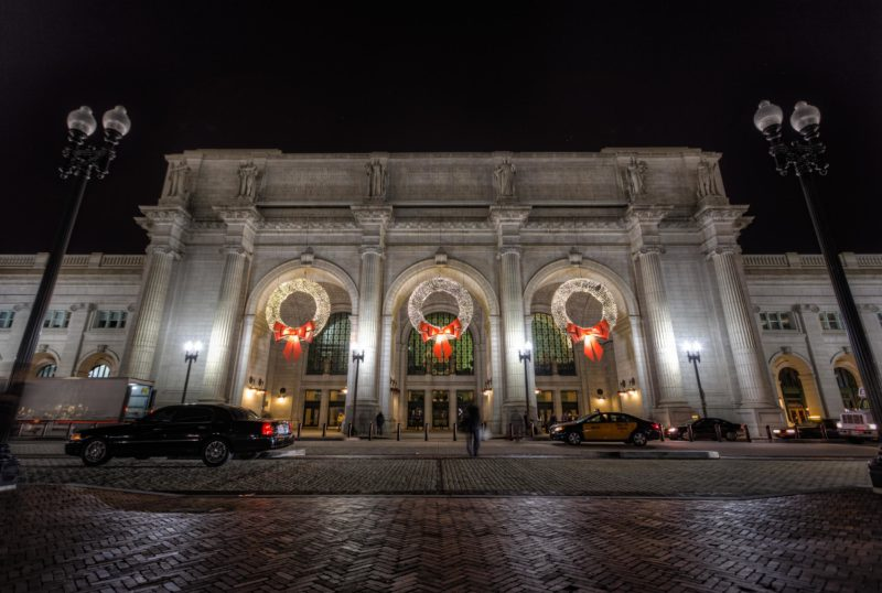 Holiday Wreaths at Union Station