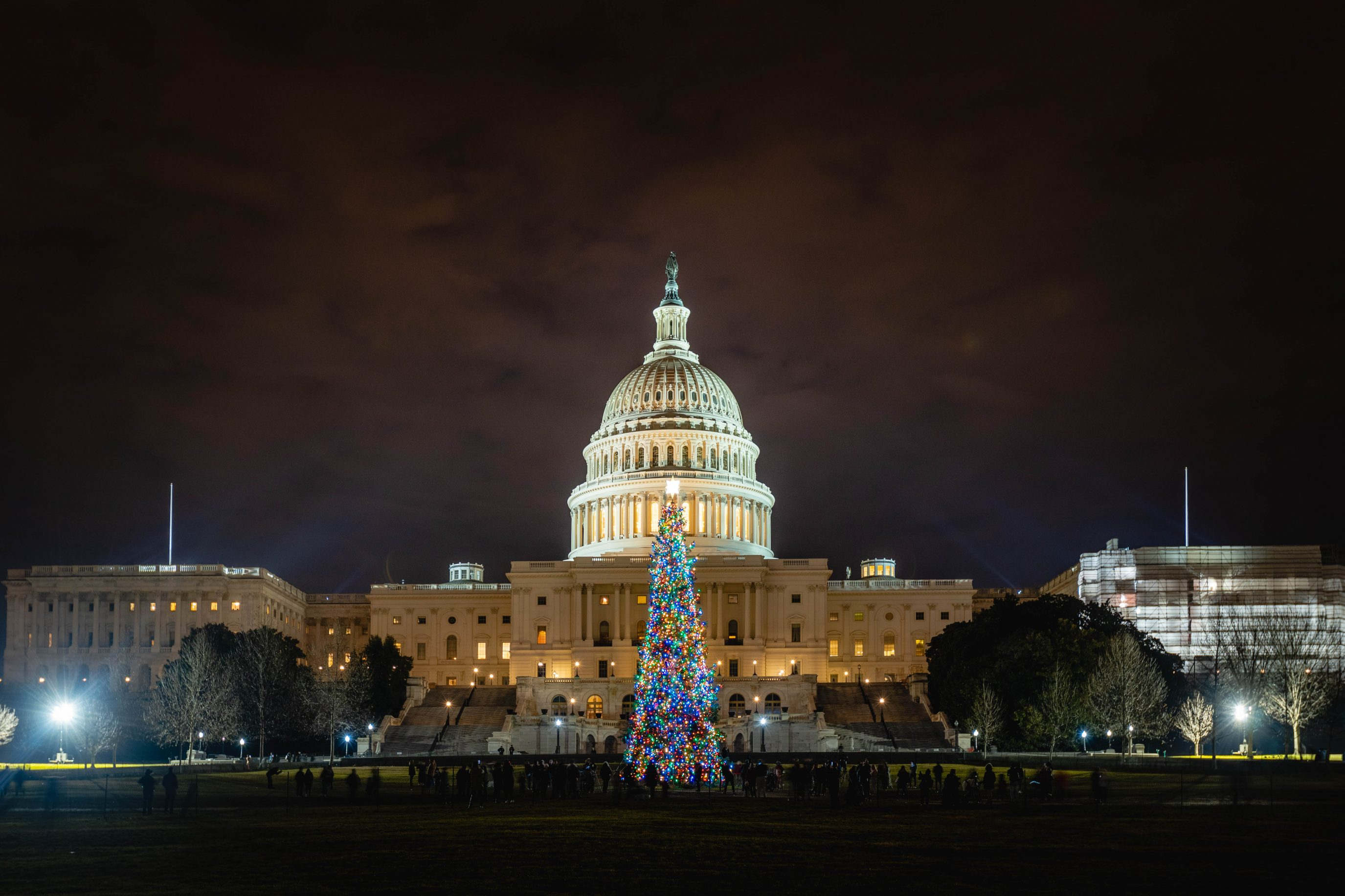 Capitol Christmas Tree 2018 Wide Angle