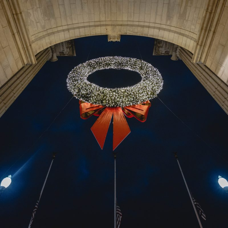 Union Station Dc Wreaths 2018