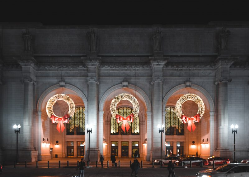 Union Station Wreaths Dc
