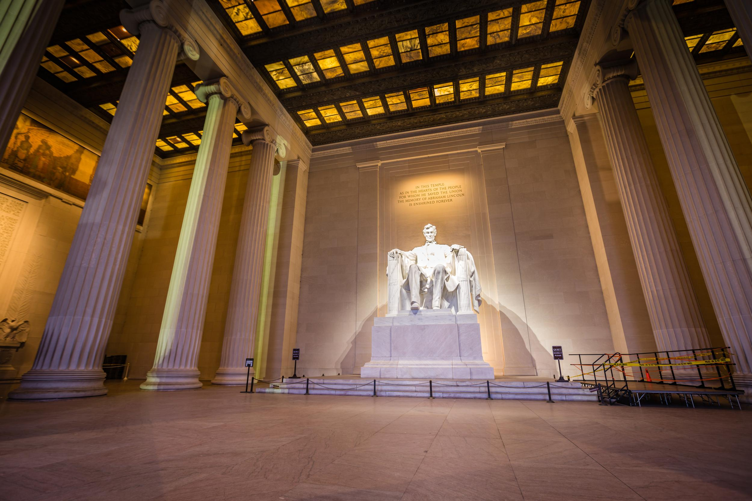 Abandoned Places In Washington Lincoln Memorial In Washington D C Photos