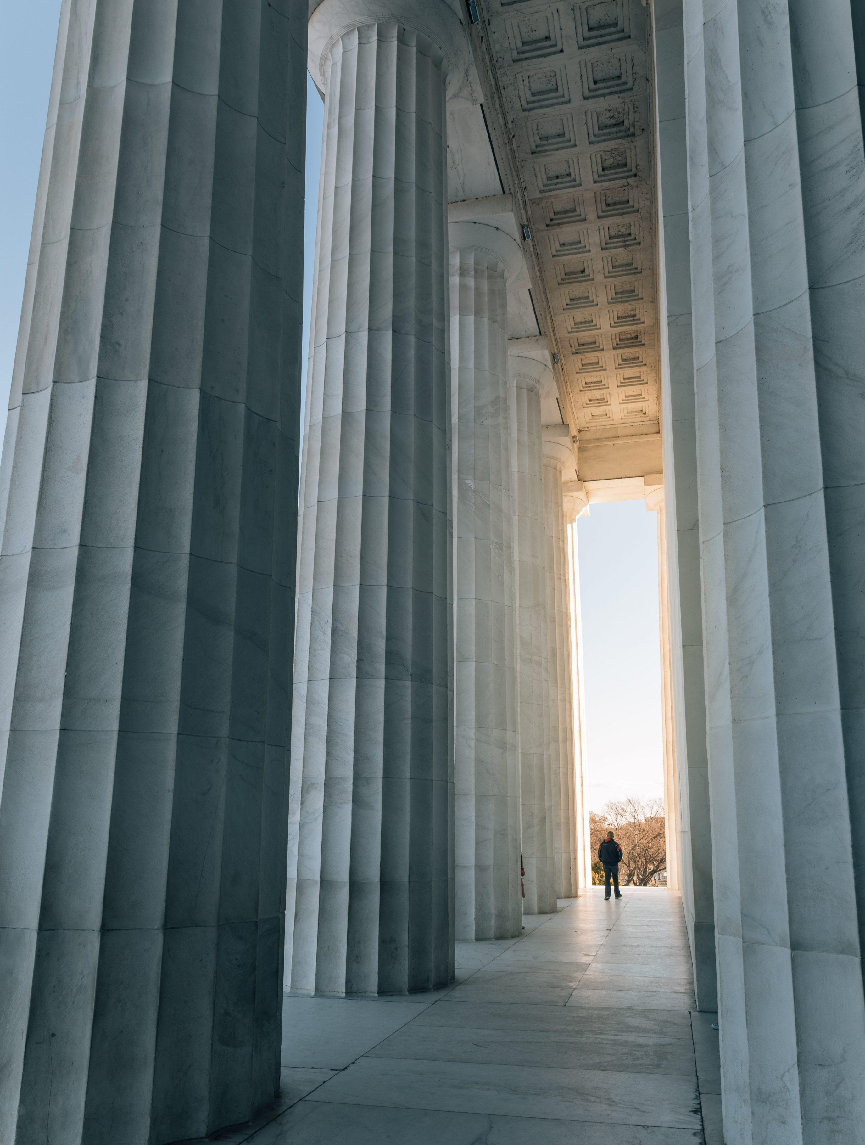 Lincoln Memorial Columns Day