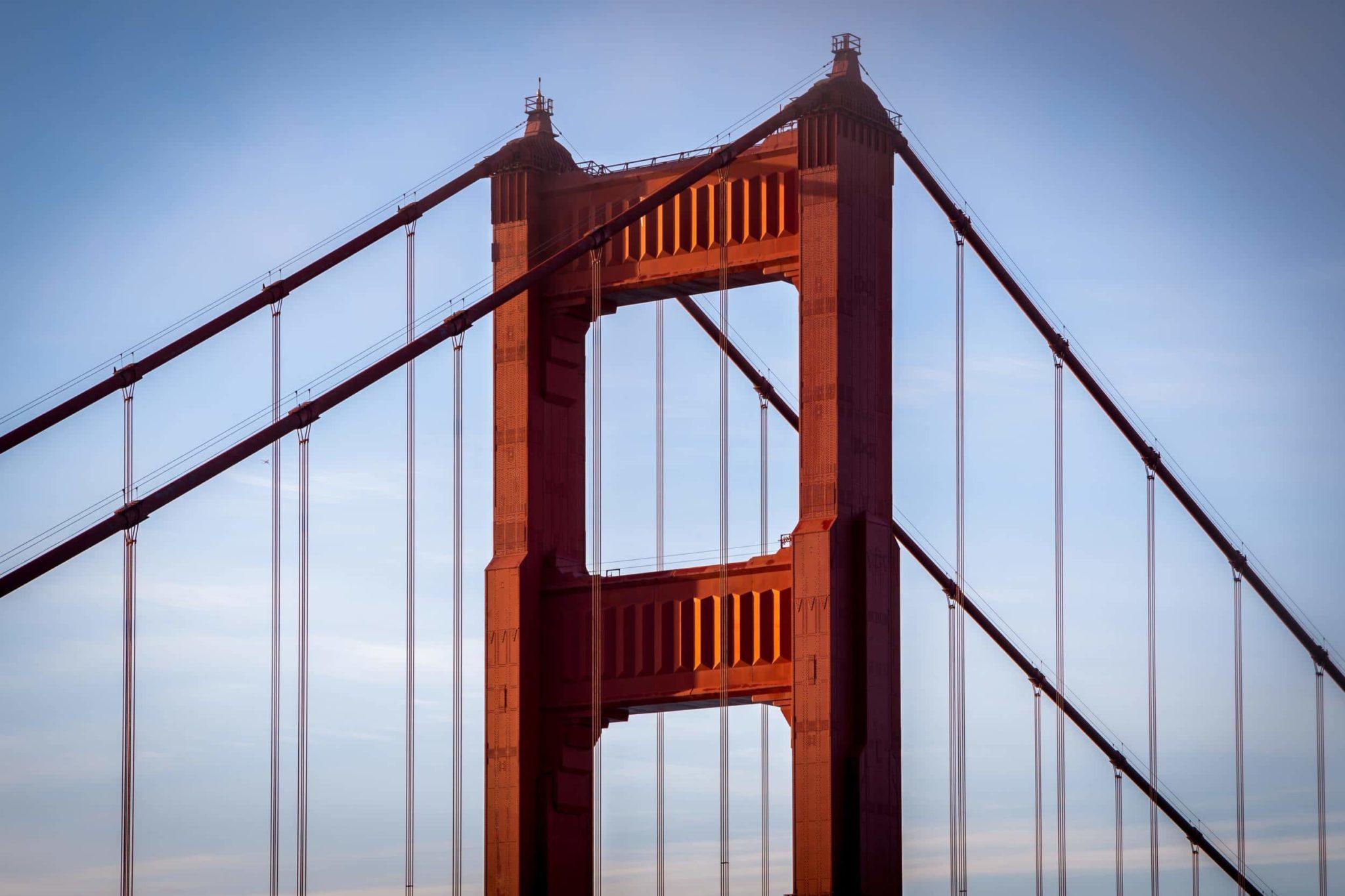 Golden Gate Bridge Arch