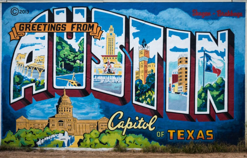 Austin Texas The City Of Art Graffiti And Murals Photos