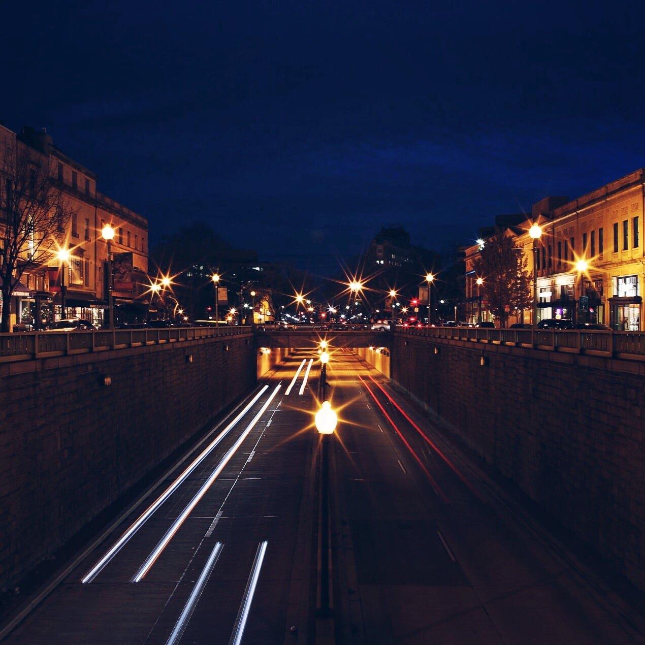 Streets Of Washington Dc At Night Photos