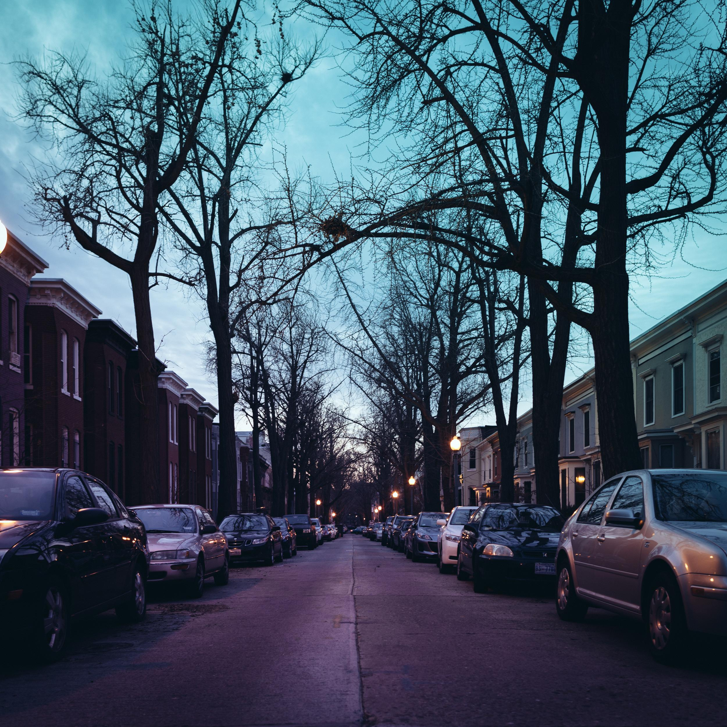 Streets Of Dc At Night