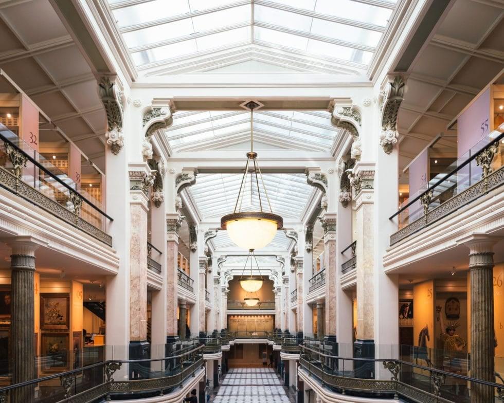Smithsonian American Art Museum Third Floor Mezzanine