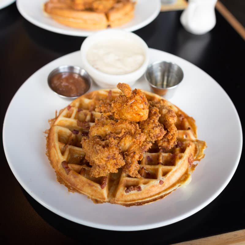 Burgundian Tavern Chicken and Waffles
