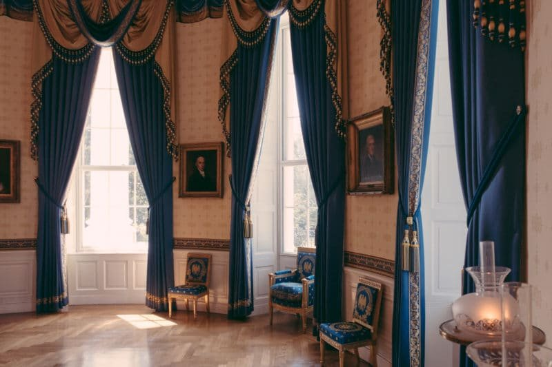 Blue Room At The White House