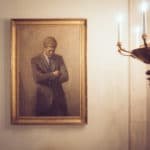 Jfk Portrait In The White House