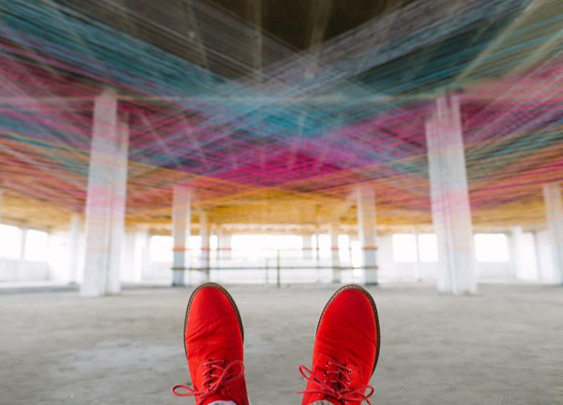 Red Shoes Plus Yarn