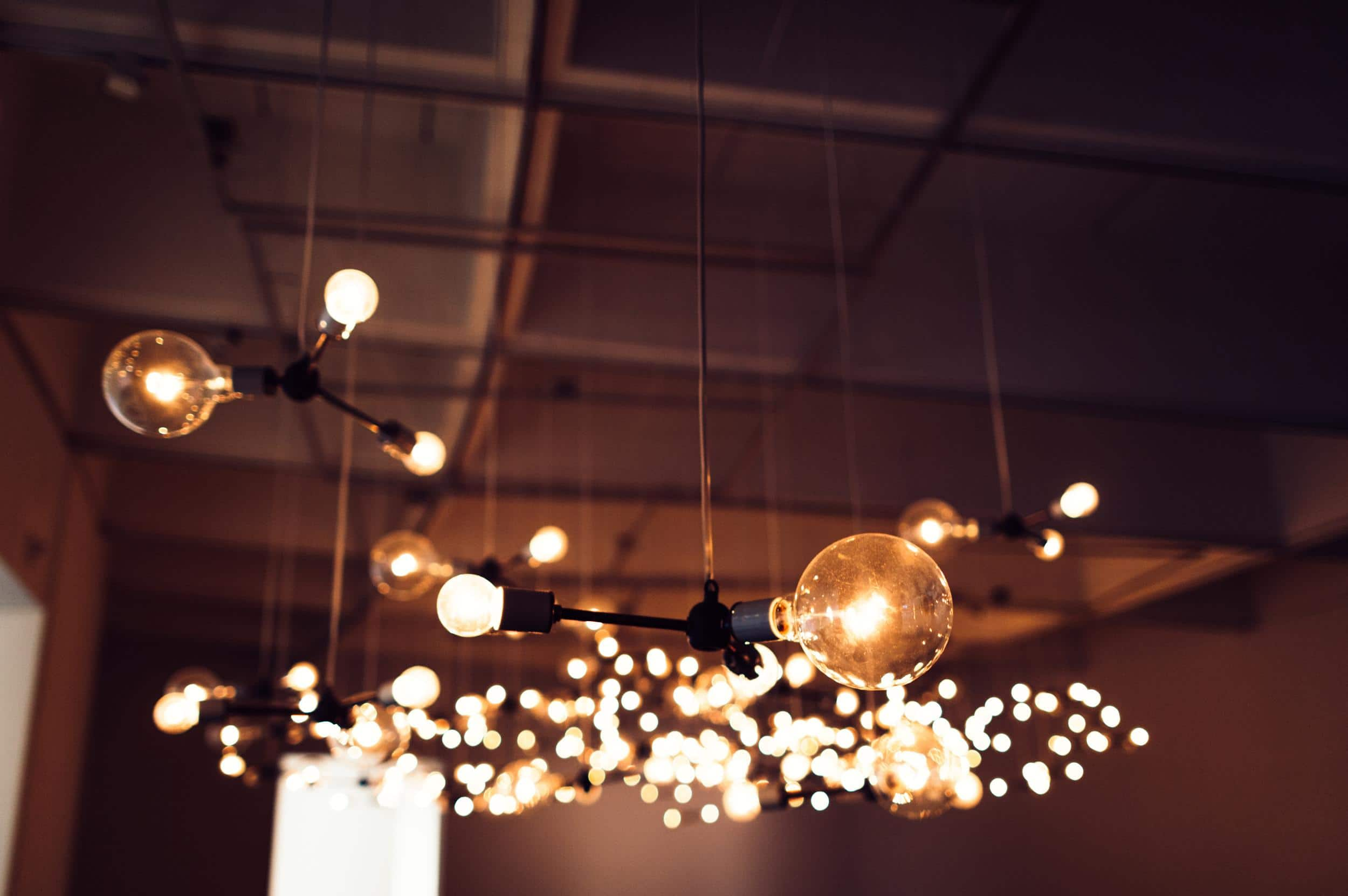 Bokeh Lights Hirshhorn