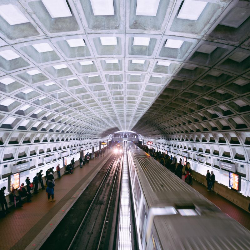 Washington DC Metro Stop