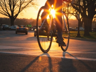 Dc Bike Sunset