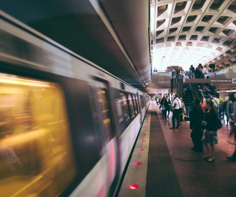 dc metro slow shutter