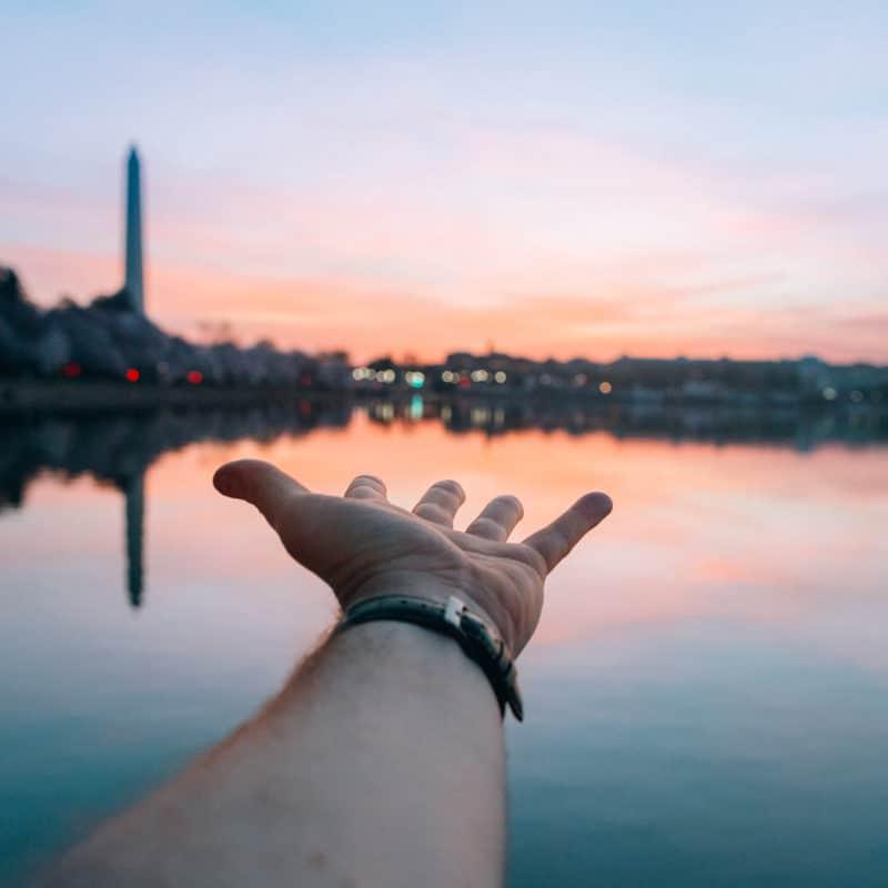 Dc Sunrise Hand