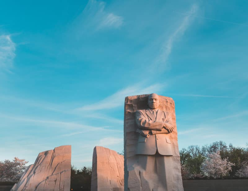 Mlk Memorial Sunrise