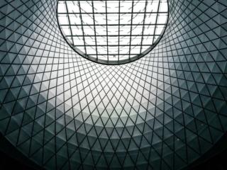 Fulton Center Skylight Nyc Close Up