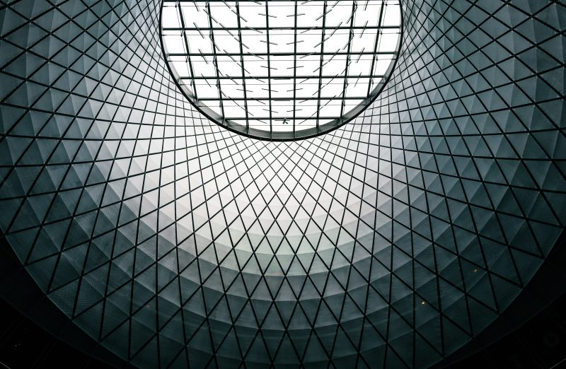 Fulton Center Skylight Nyc Close Up