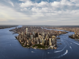 New York City Skyline Aerial