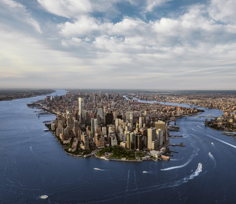 New York City Skyline Aerial