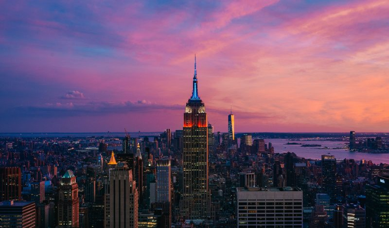 Nyc Instagram Spots Top Of The Rock Sunset