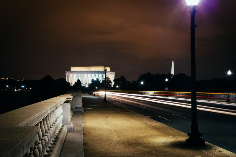 Lincoln Memorial from the Arlington Memorial Bridge