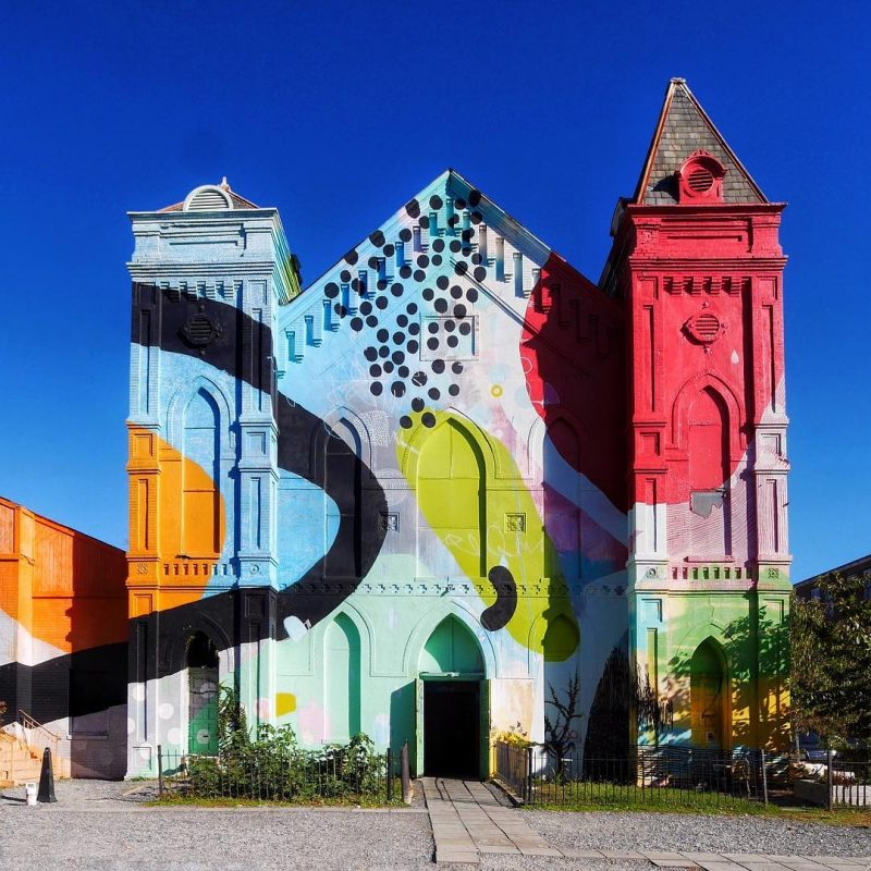 Colorful Church: Blind Whino in Washington DC