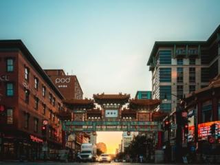 Chinatown DC Friendship Arch Ground