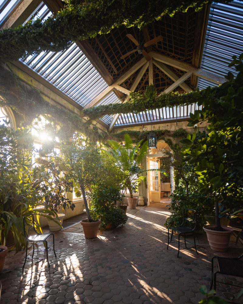 Dumbarton Oaks Greenhouse Orangery in Washington DC