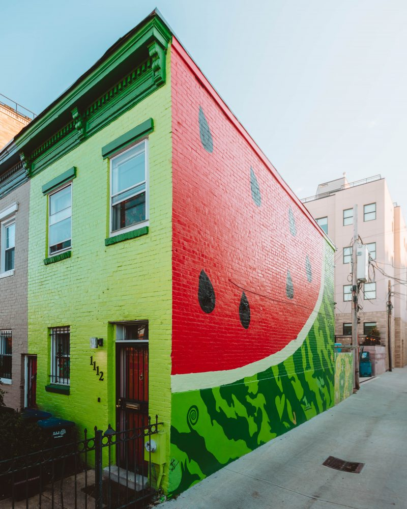 Watermelon House in Washington DC