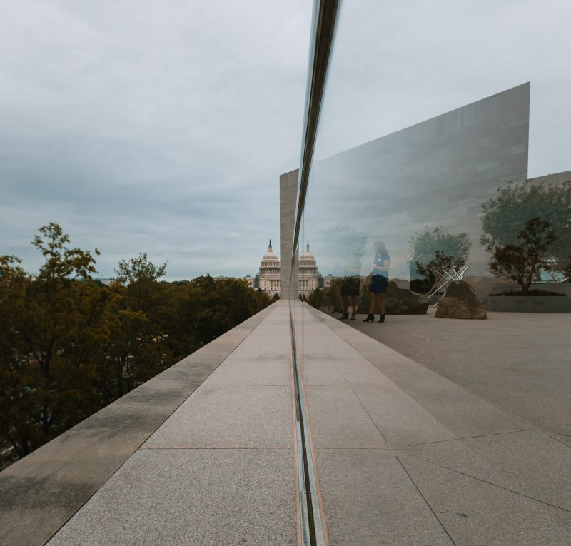 Photos From The National Gallery Of Art Roof Terrace Capitol View