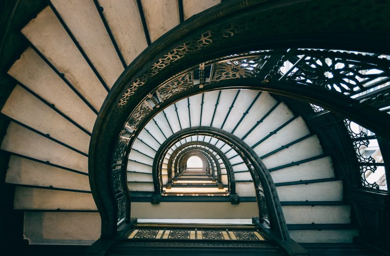 stairwell-at-the-rookery-building