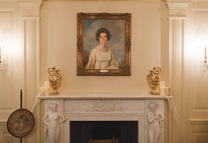 Haunted White House Cobwebs