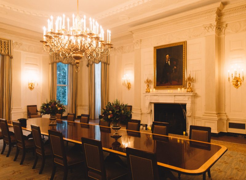 Haunted White House Tour