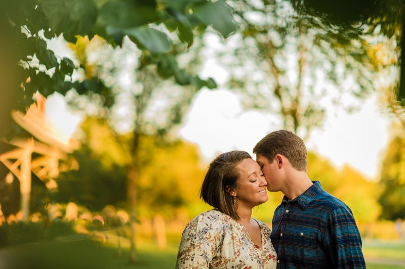 Georgetown Engagement Photos in DC