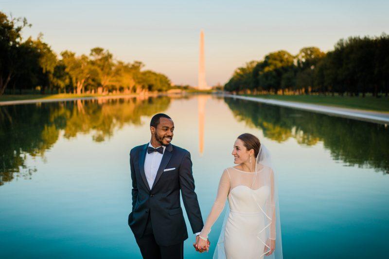 Engagement Photos at the Washington Monument