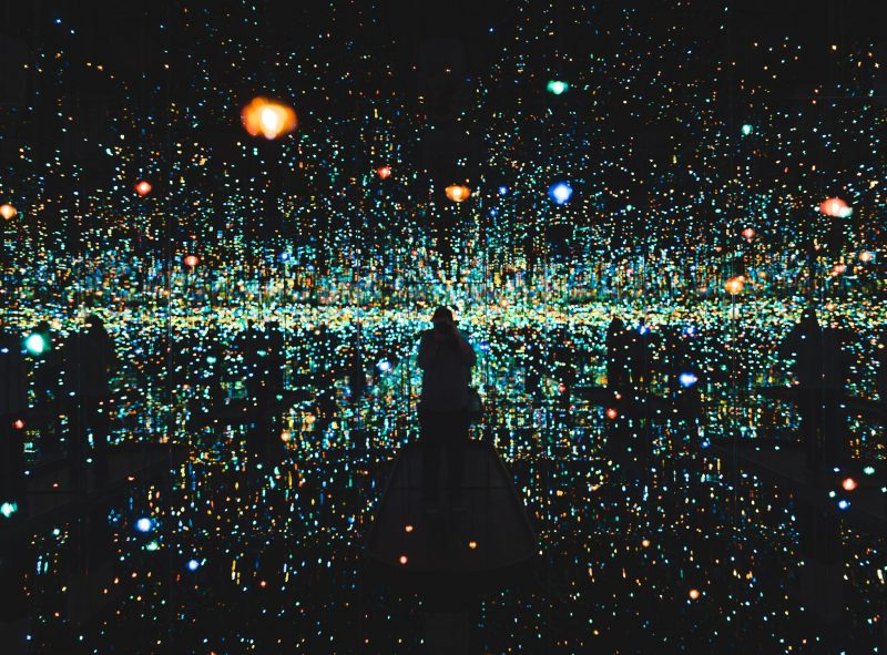 Kusama Hirshhorn Souls Of Millions Of Light Years Away
