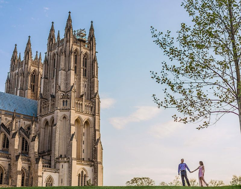 National Cathedral Engagement Dc