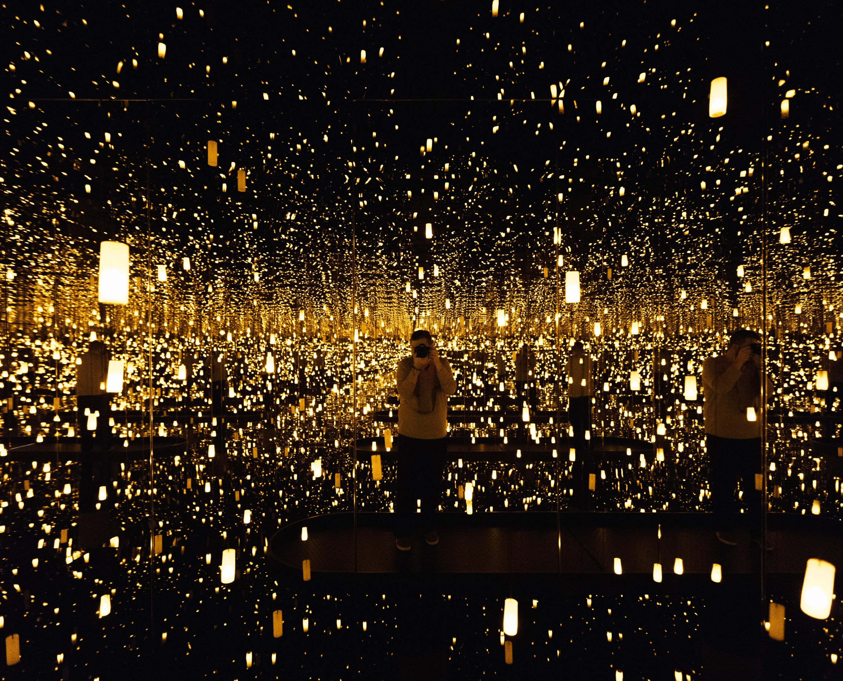 Yayoi Kusama S Infinity Mirrors At The Hirshhorn Museum