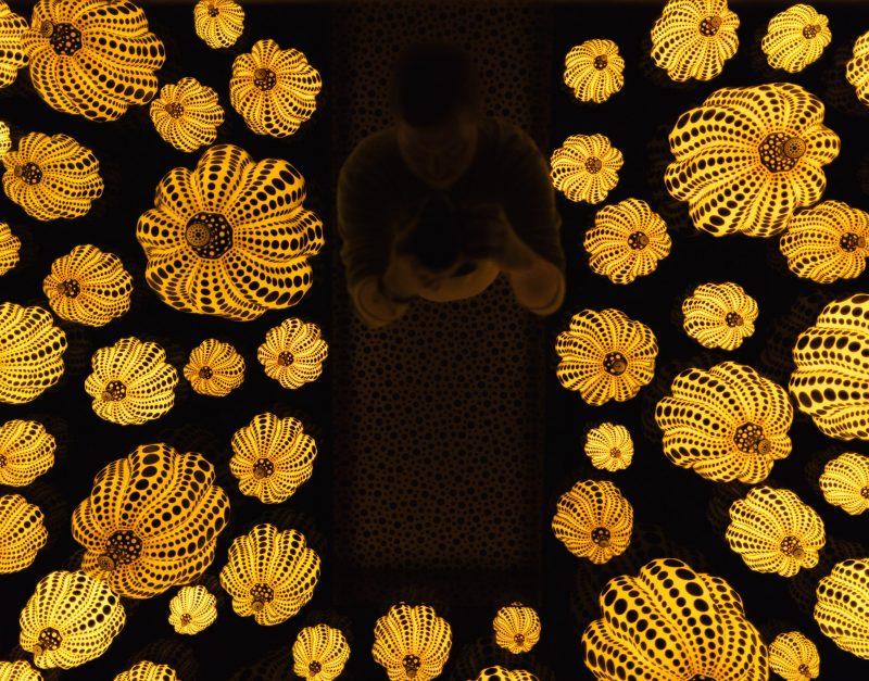 Yayoi Kusama Hirshhorn Pumpkin Room Ceiling