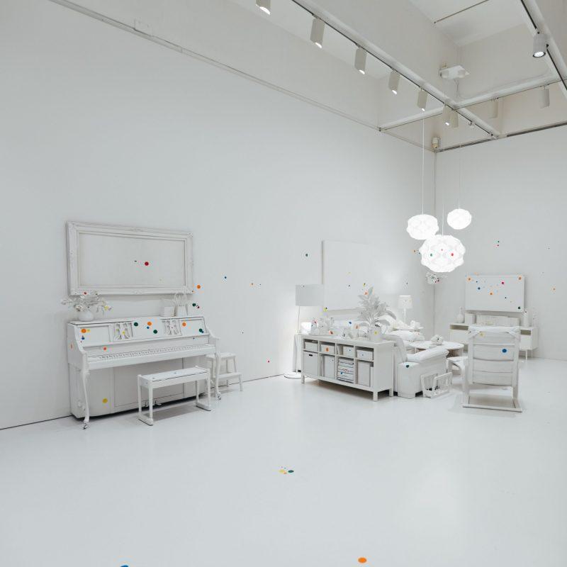 Yayoi Kusama Obliteration Room