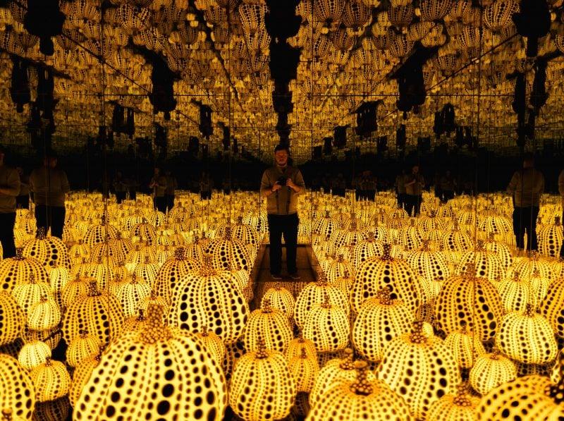 Yayoi Kusama Pumpkin Room