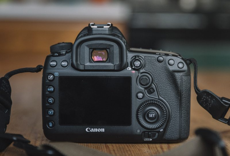 Canon 5d Mark IV Back Buttons