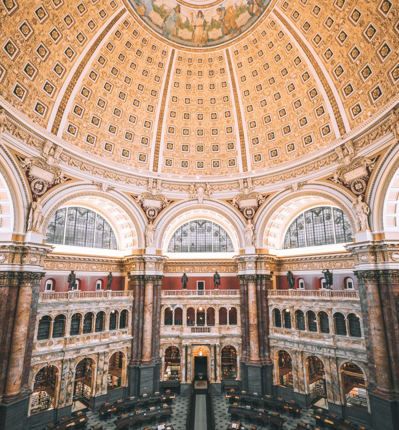 Photos Of The Library Of Congress In Washington Dc