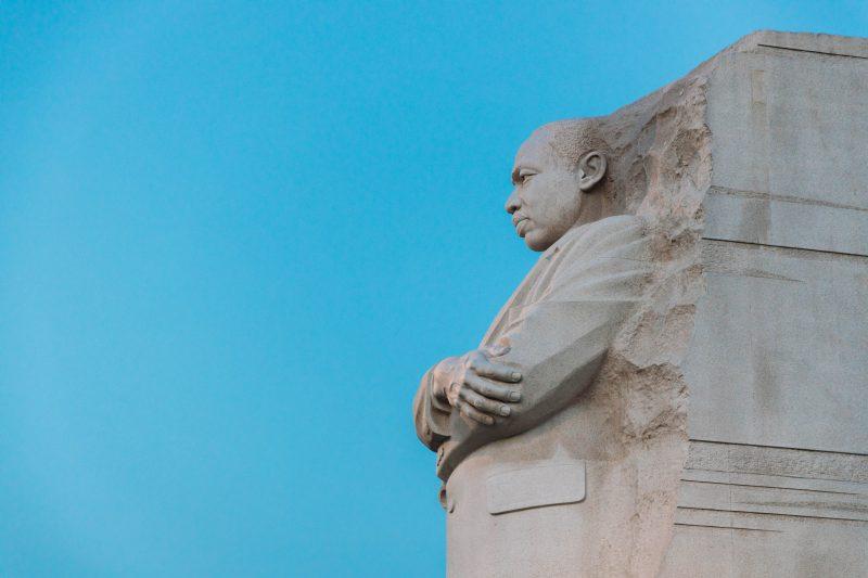 Mlk Memorial Blue Sky 2